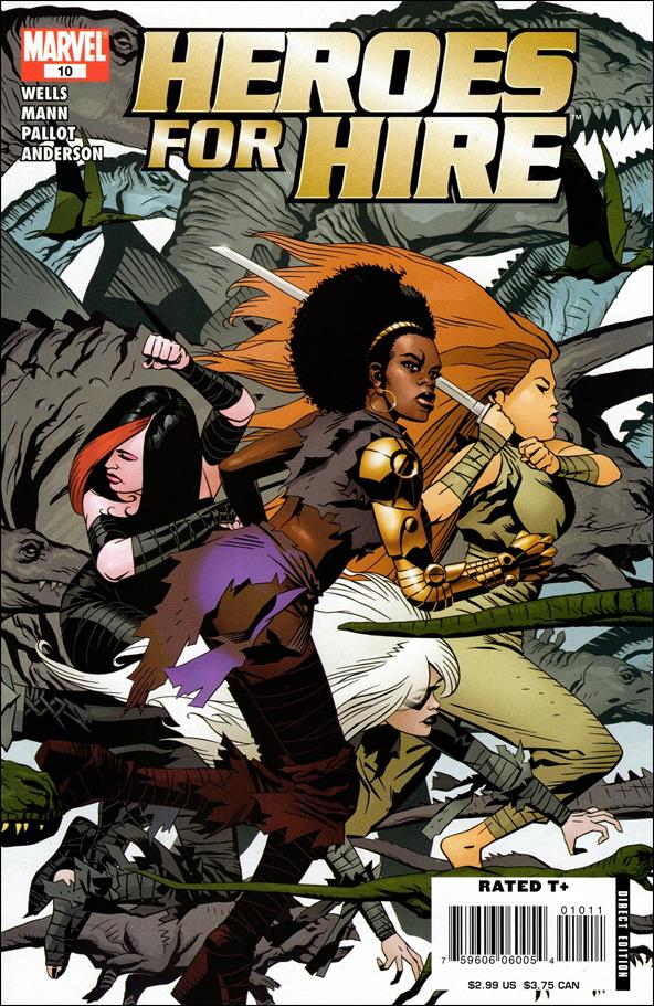 Heroes for Hire (2006) 10-A by Marvel
