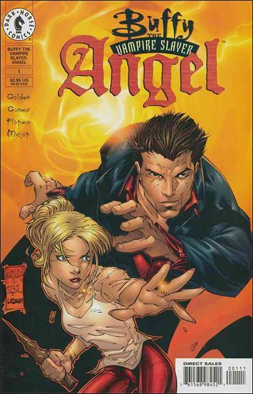 Buffy the Vampire Slayer: Angel 1-A by Dark Horse