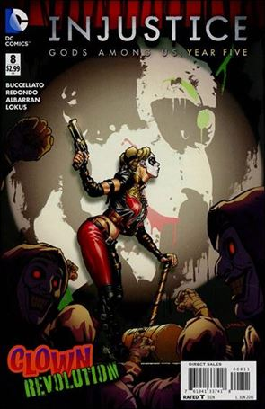 Injustice: Gods Among Us: Year Five 8-A
