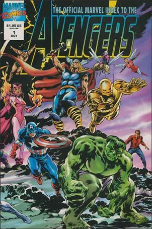 Official Marvel Index to the Avengers (1994) 1-A