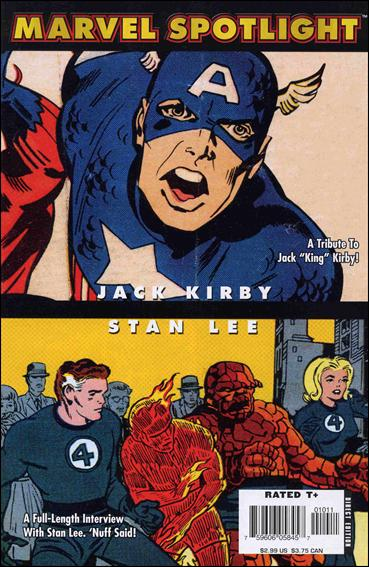 Marvel Spotlight: Stan Lee/Jack Kirby 1-A by Marvel