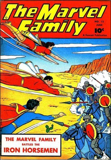Marvel Family 12-A by Fawcett