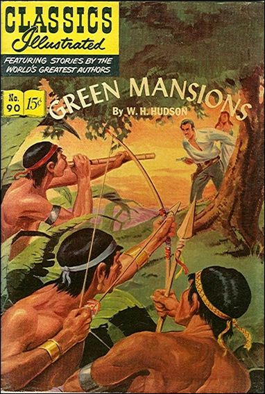 Classic Comics/Classics Illustrated 90-A by Gilberton