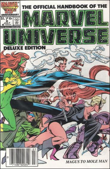 Official Handbook of the Marvel Universe (1985) 8-B by Marvel