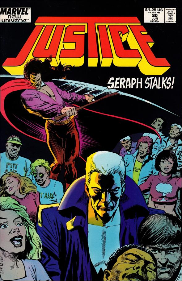Justice (1986) 20-A by Marvel