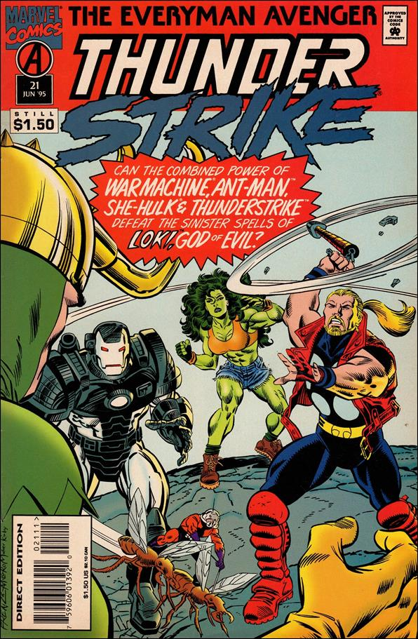 Thunderstrike (1993) 21-A by Marvel
