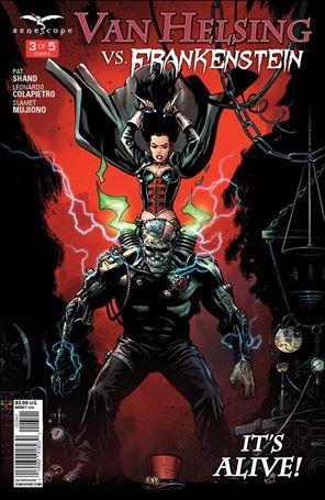 Van Helsing vs. Frankenstein 3-D