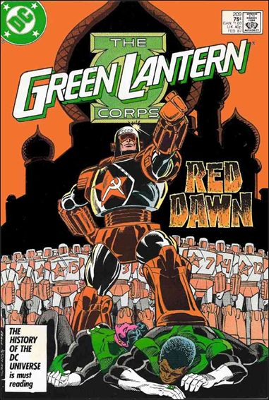 Green Lantern Corps (1986) 209-A by DC