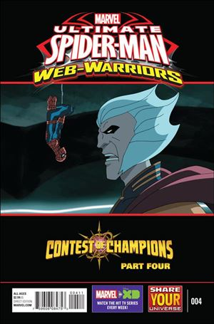 Marvel Universe Ultimate Spider-Man: Contest of Champions 4-A
