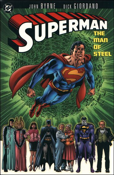 Superman: Man of Steel 1-E by DC