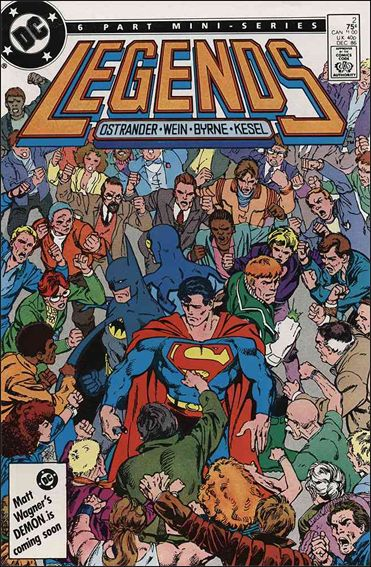 Legends (1986) 2-A by DC