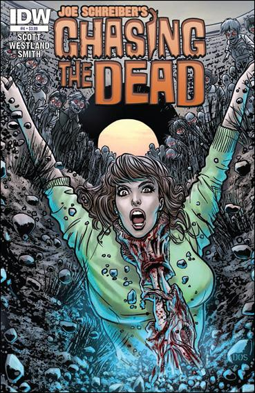 Chasing the Dead 4-A by IDW