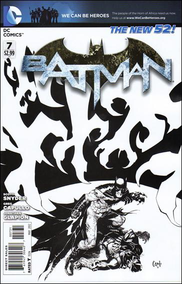 Batman (2011) 7-E by DC