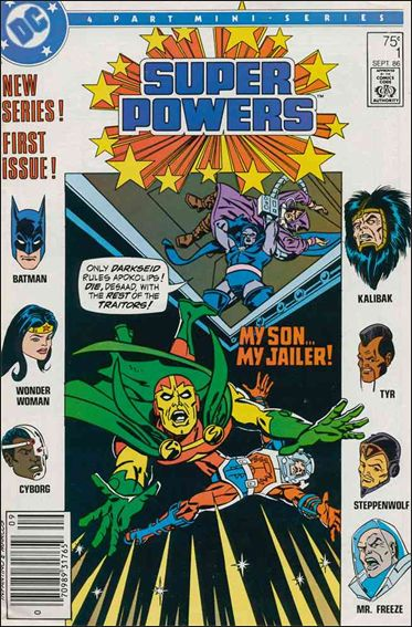 Super Powers (1986) 1-A by DC