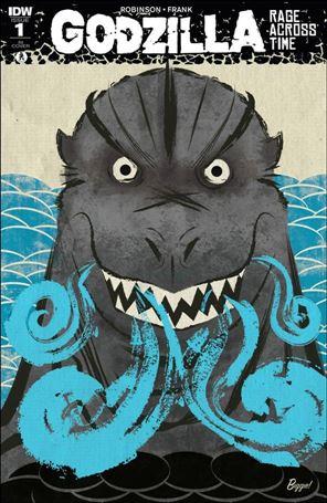 Godzilla: Rage Across Time 1-C