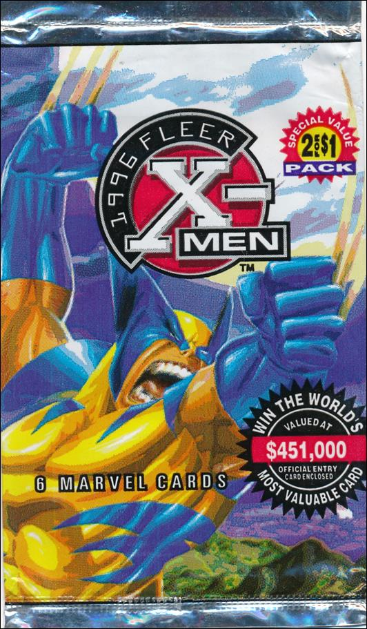 1996 Fleer X-Men Wal-Mart 2-A by Fleer