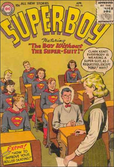 Superboy (1949) 48-A by DC