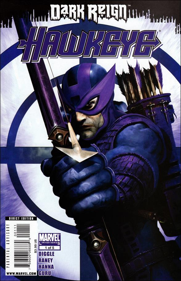 Dark Reign: Hawkeye 1-A by Marvel