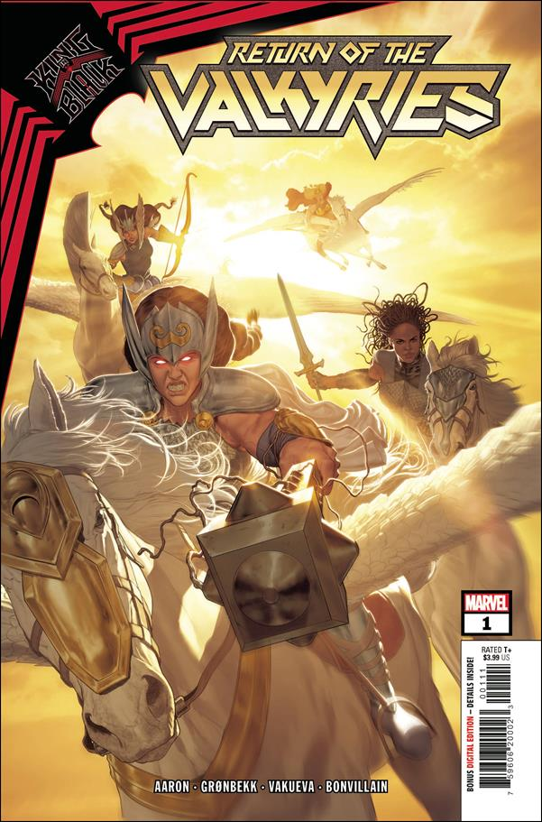 King in Black: Return of the Valkyries 1-A by Marvel