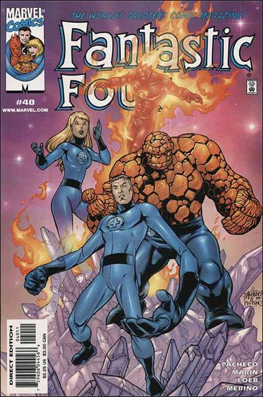 Fantastic Four (1998) 40-A by Marvel