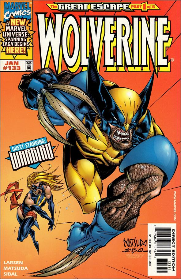 Wolverine (1988)  133-A by Marvel