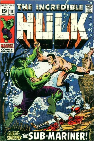 Incredible Hulk (1968) 118-A by Marvel