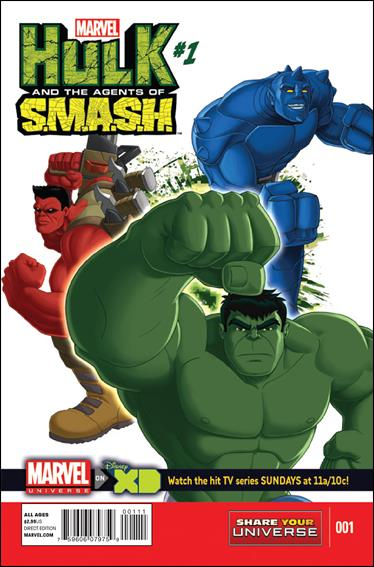 Marvel Universe Hulk: Agents of S.M.A.S.H.  1-A by Marvel