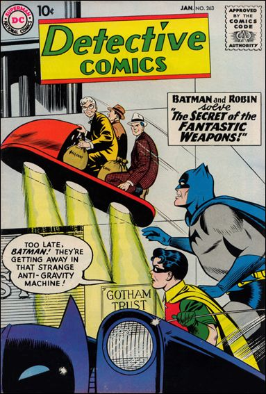 Detective Comics (1937) 263-A by DC