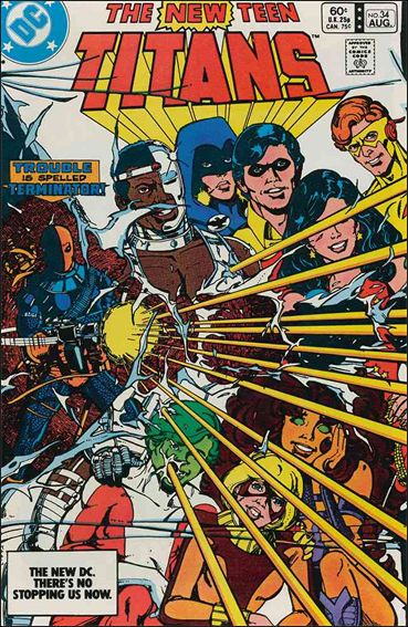 New Teen Titans (1980) 34-A by DC