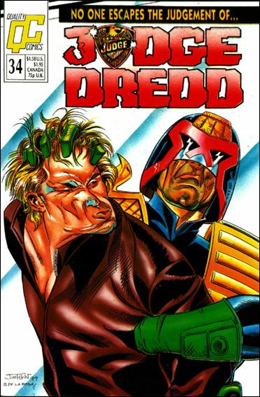 Judge Dredd (1986) 34-A by Quality Comics