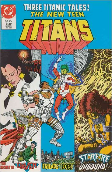 New Teen Titans (1984) 22-A by DC