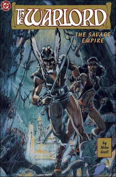 Warlord: The Savage Empire 1-A by DC