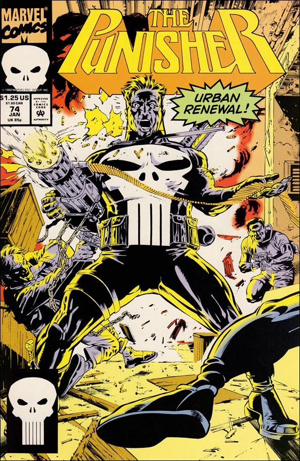 Punisher (1987) 74-A by Marvel