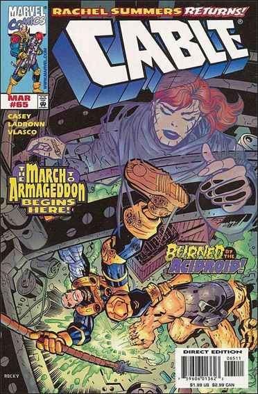 Cable (1993) 65-A by Marvel
