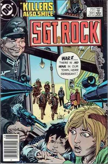 Sgt. Rock (1977) 391-A by DC