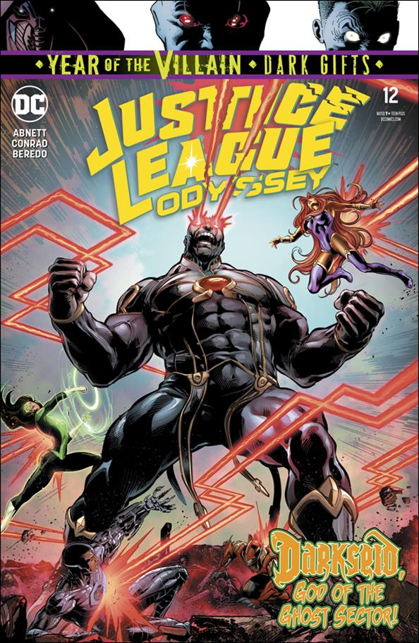 Justice League Odyssey 12-A by DC