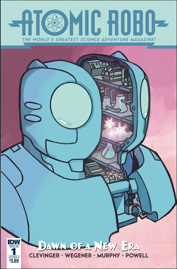 Atomic Robo: Dawn of a New Era 1-A by IDW