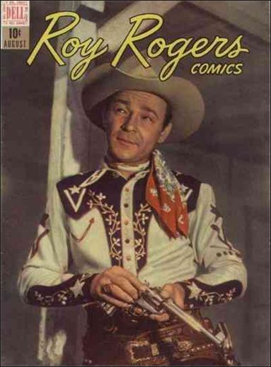 Roy Rogers Comics 8-A by Dell