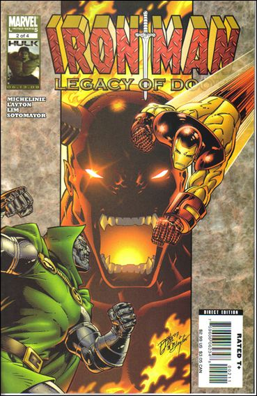 Iron Man: Legacy of Doom 2-A by Marvel