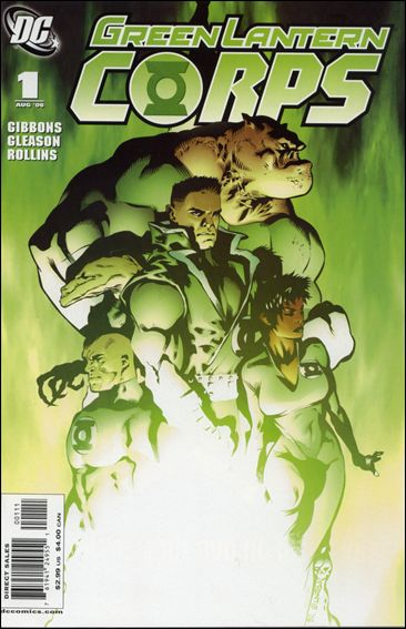 Green Lantern Corps (2006) 1-A by DC