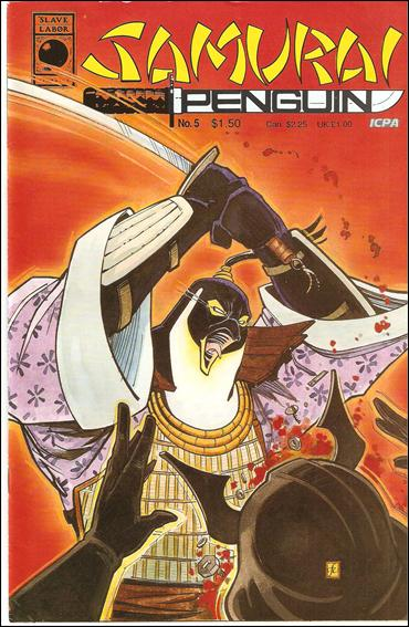 Samurai Penguin 5-A by Slave Labor Graphics (SLG) Publishing
