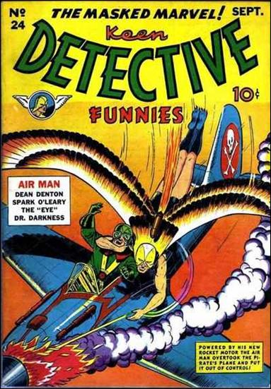 Keen Detective Funnies (1940) 24-A by Centaur Publications Inc.