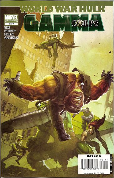 World War Hulk: Gamma Corps 4-A by Marvel