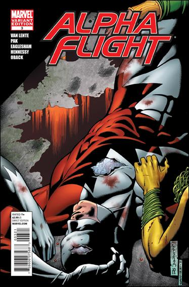 Alpha Flight (2011) 3-B by Marvel