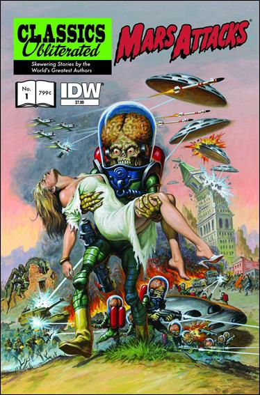 Mars Attacks: Classics Obliterated 1-B by IDW
