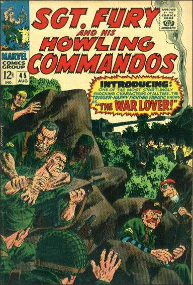 Sgt. Fury and His Howling Commandos 45-A by Marvel