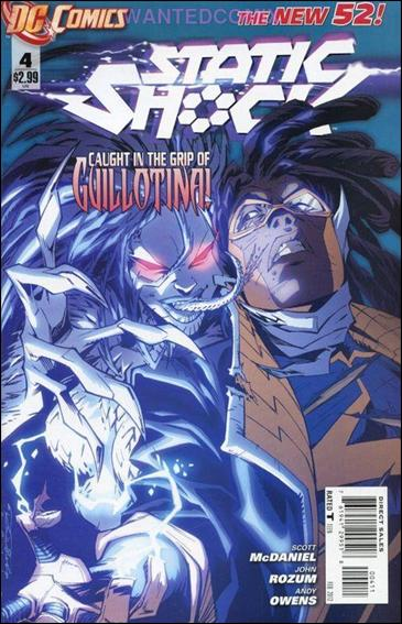 Static Shock 4-A by DC