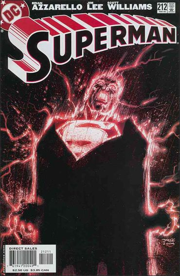 Superman (1987) 212-A by DC