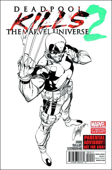 Deadpool Kills the Marvel Universe 2-B by Marvel