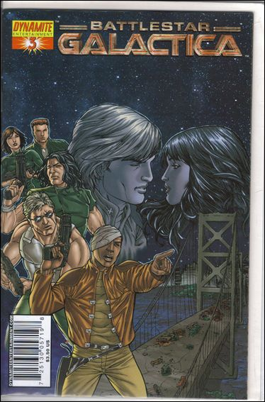 Classic Battlestar Galactica (2006) 3-B by Dynamite Entertainment